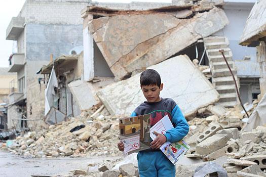 Le projet Sauvons les écoles en Syrie (Source : UNICEF)