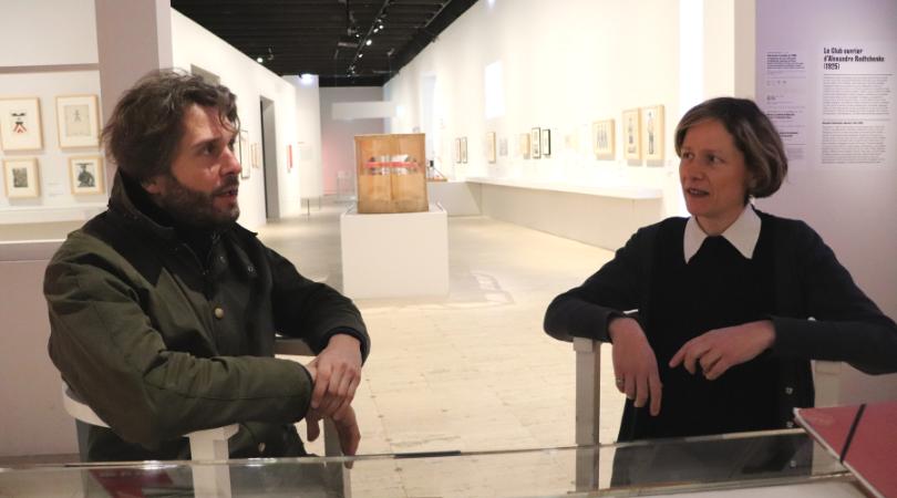 Nicolas Liucci-Goutnikov et Hélène Mugnier